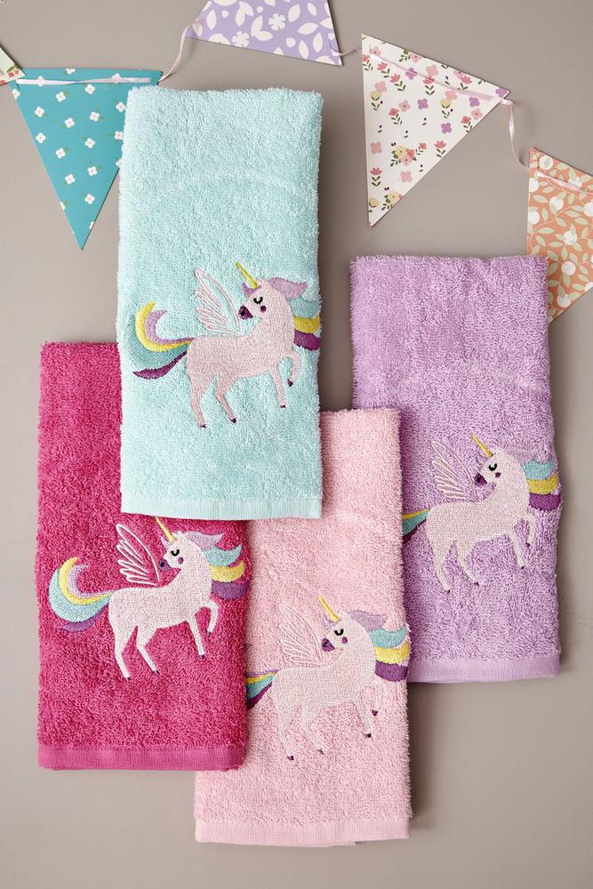 Palamaiki Σετ Πετσέτες Παιδικές 40x60 Kids Bath Unicorn Magic