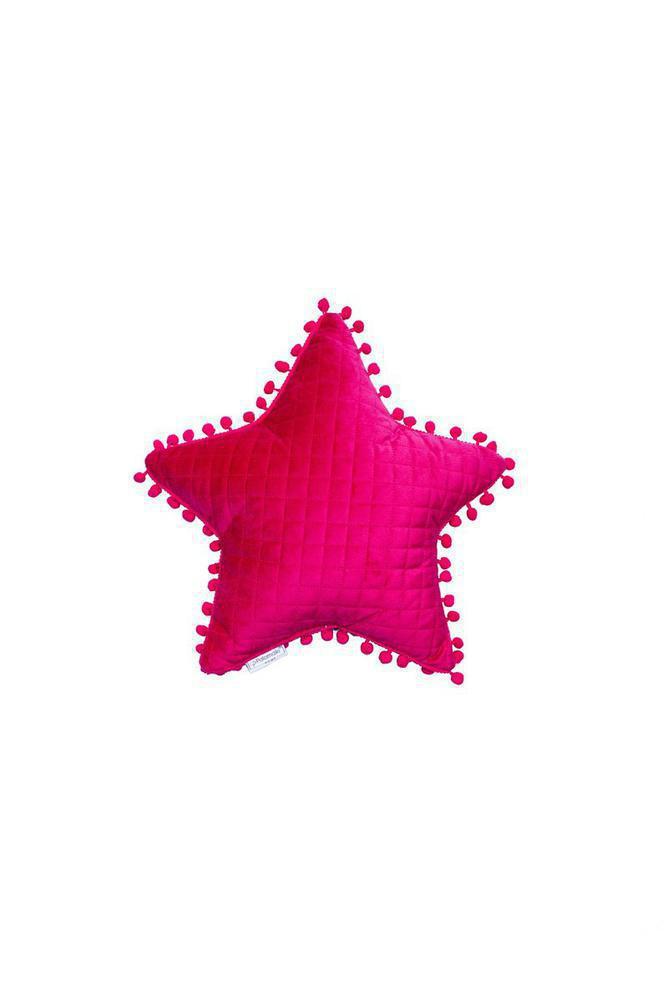Palamaiki Μαξιλάρι Διακοσμητικό 34x34 Elwin Αστέρι Fuchsia
