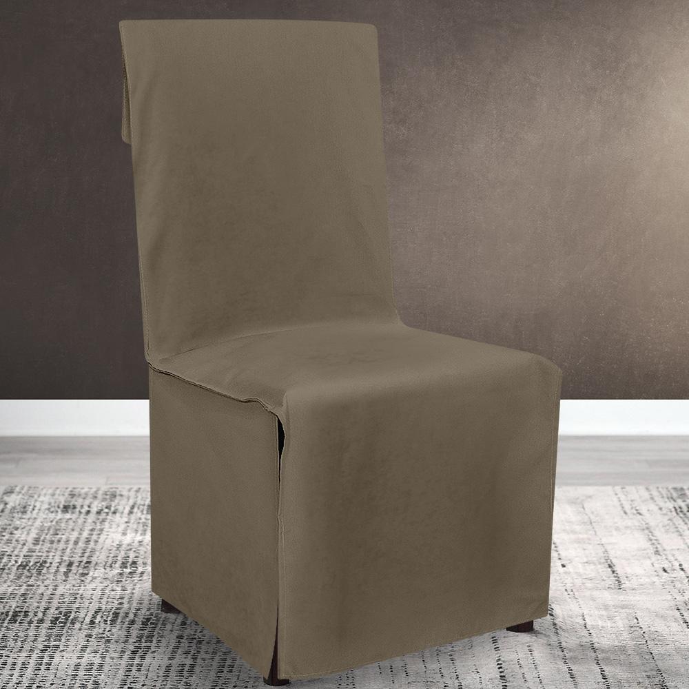 Lino Home Κάλυμμα Καρέκλας 200 Renas Coffee