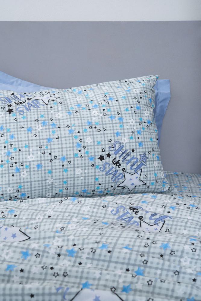 Palamaiki Κουρτίνα Με Τρέσα 170x260 Luminous Cluster Blue