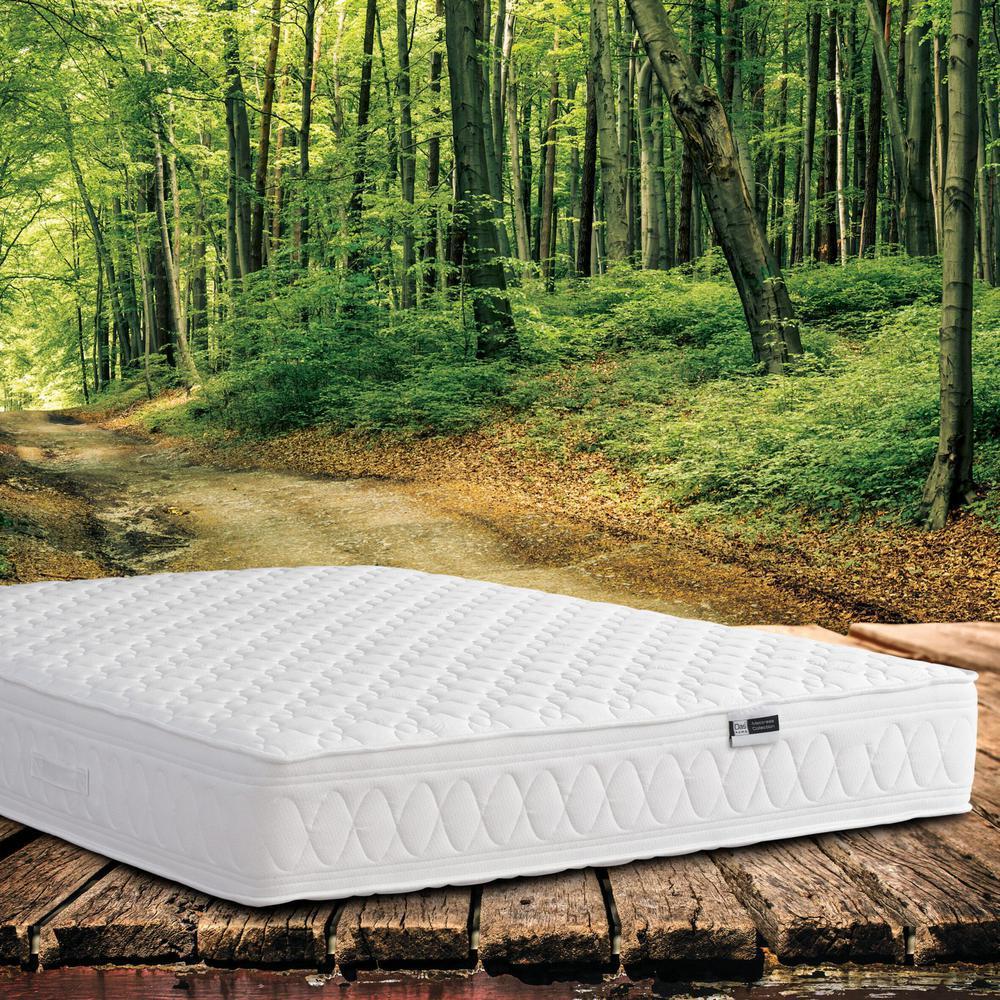 1503 Στρώμα Διπλό Prestige Extra 110-138x200 Das home Λευκό